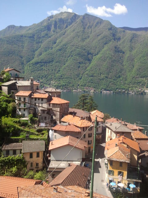 Het schilderachtige dorpje Nesso