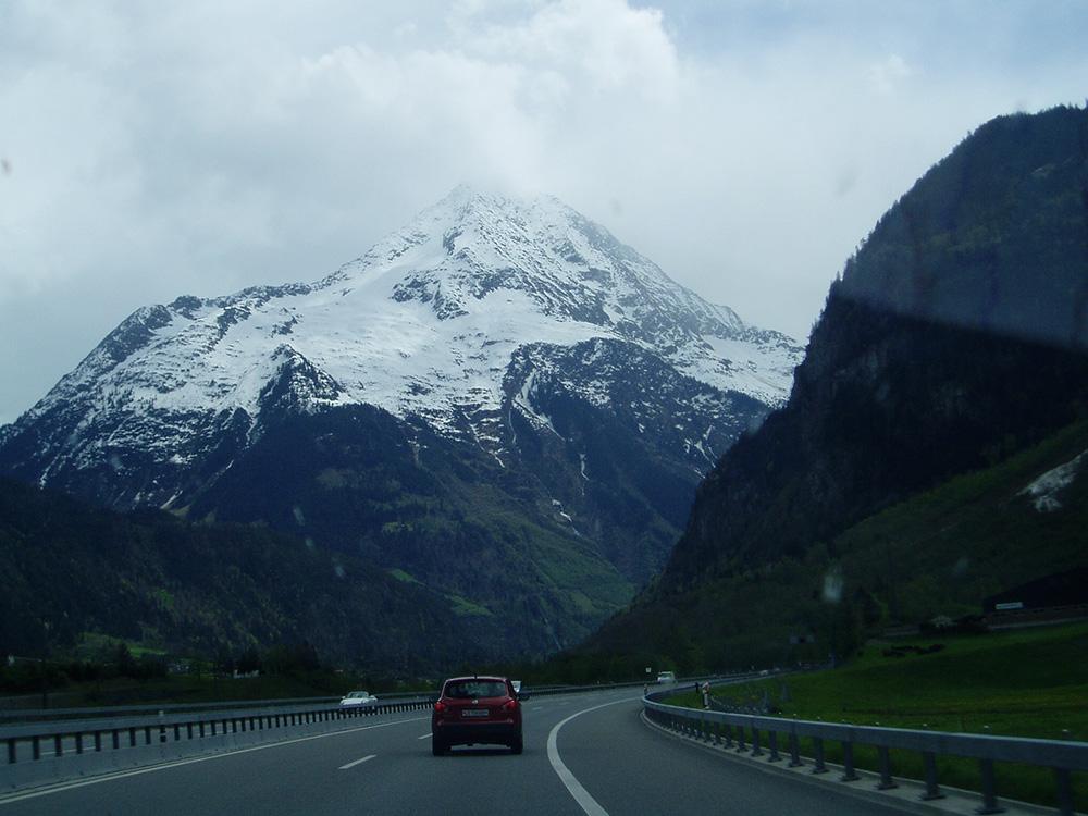 Onderweg naar Lago di Como
