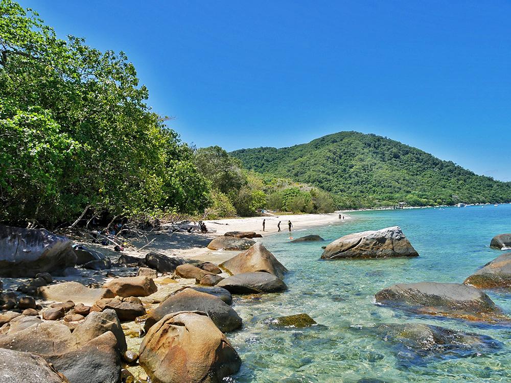 Misschien wel het meest fotogenieke plekje van Fitzroy Island