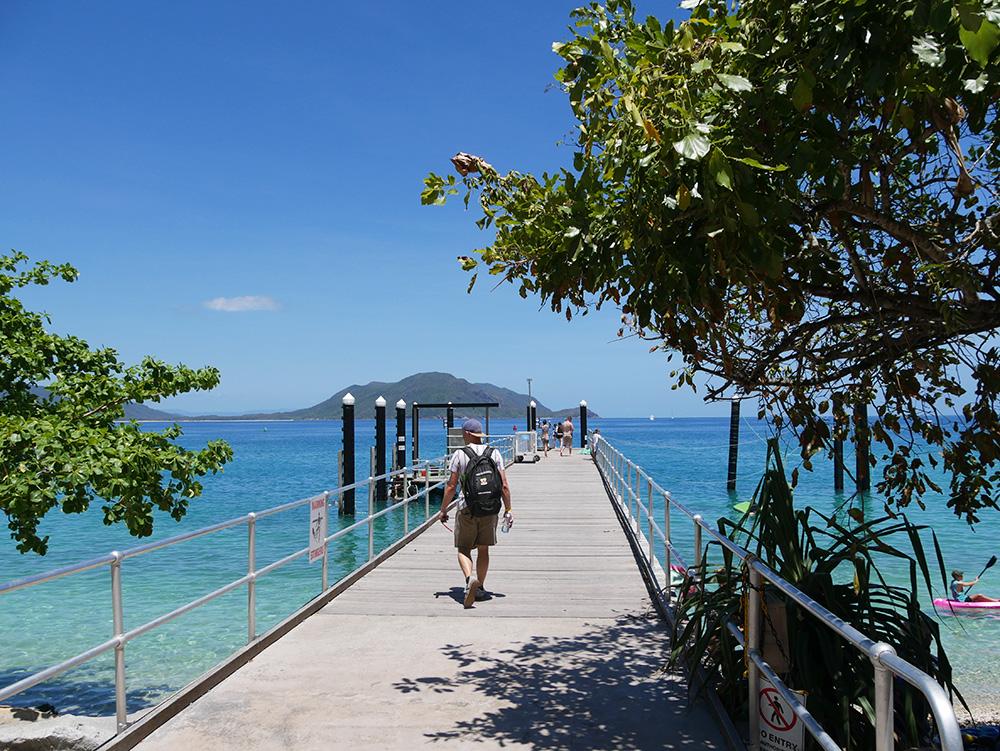 Pier bij Resort Fitzroy Island