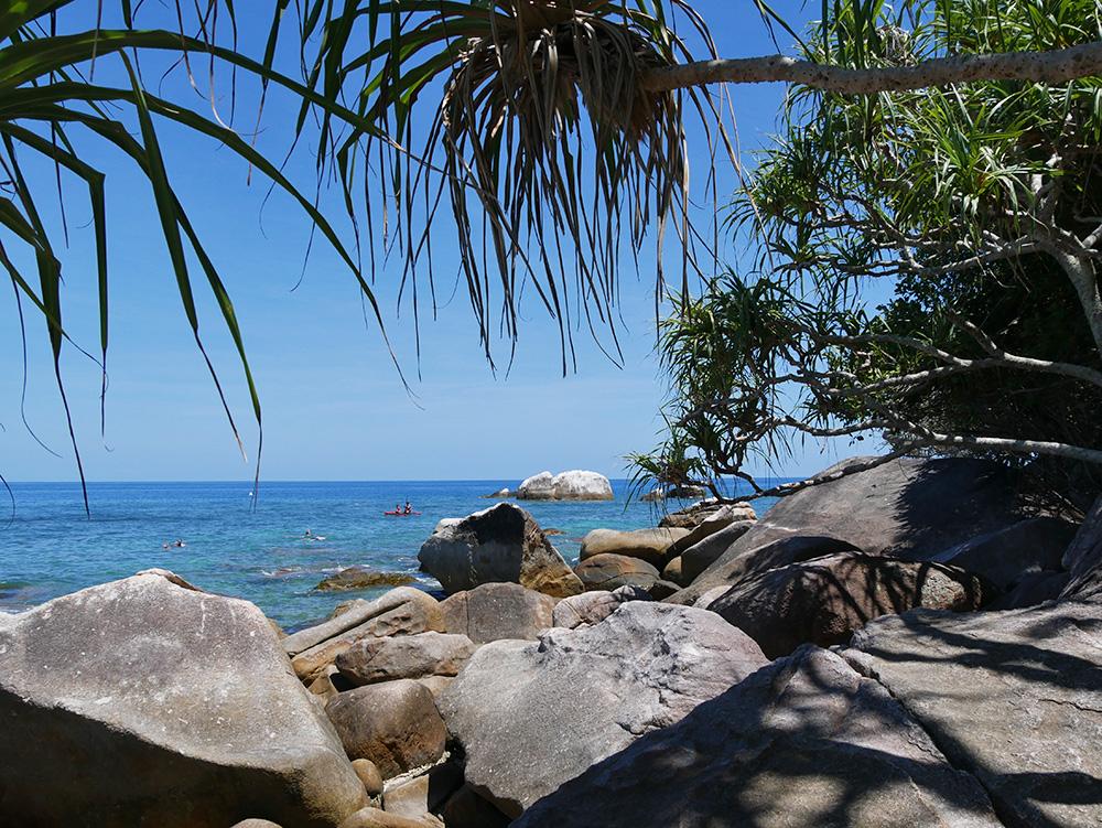 Een hele goede plek om te snorkelen, 5 minuten lopen vanaf het resort