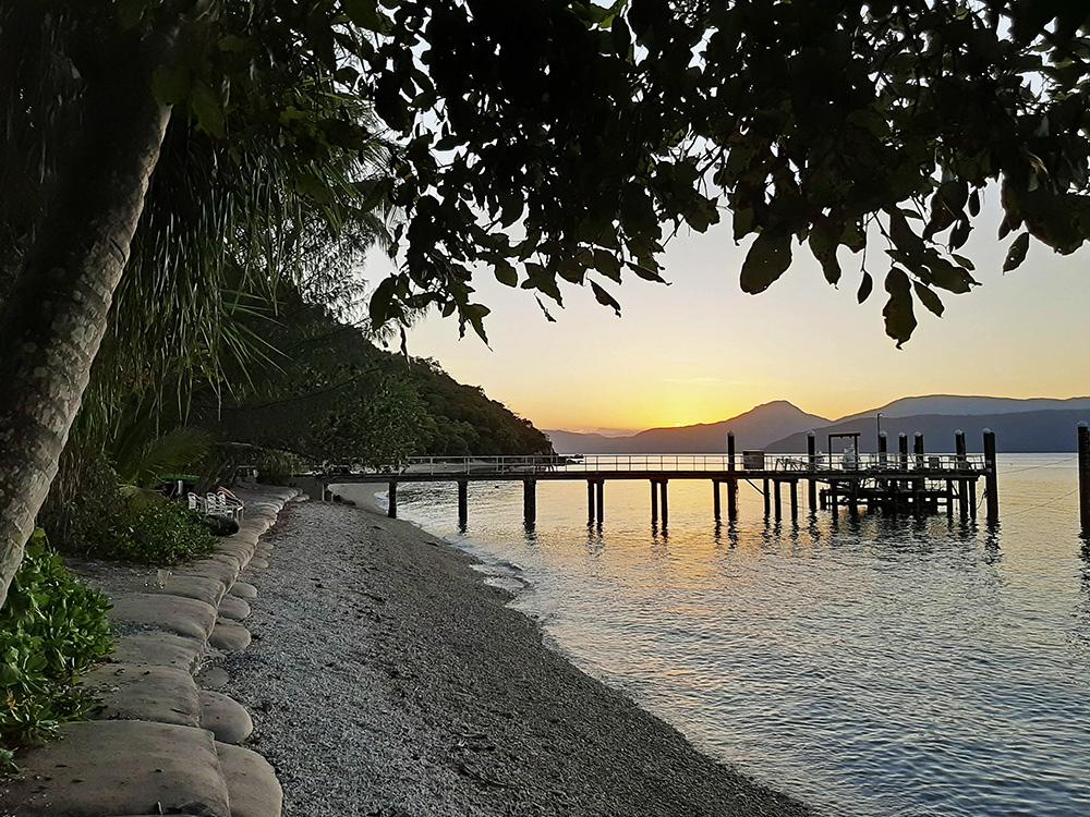 Zonsondergang op Fitzroy Island