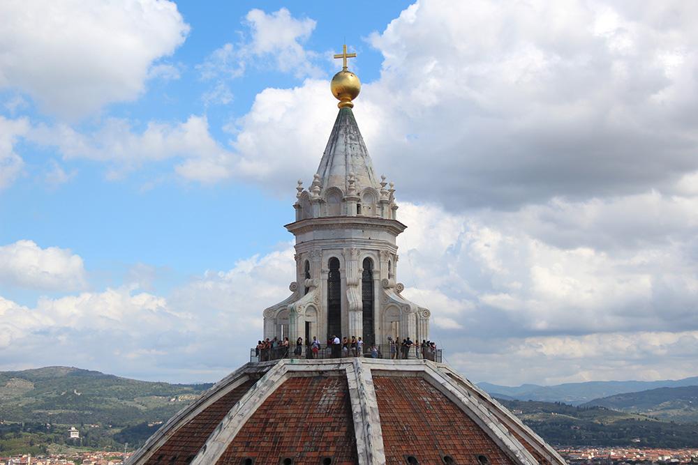 De koepel van de Duomo in Florence - Toscane
