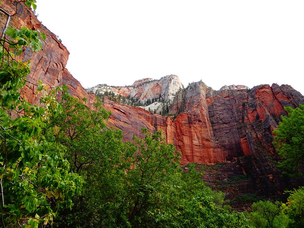 De waanzinnig mooie natuur van Zion