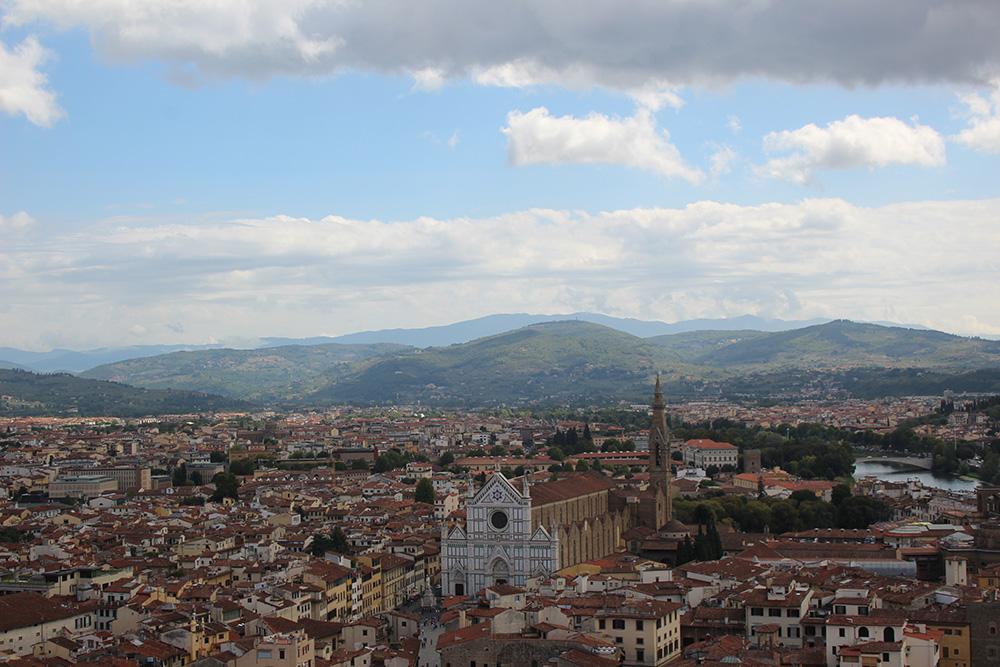 Florence of Firenze, hoofdstad van de regio Toscane