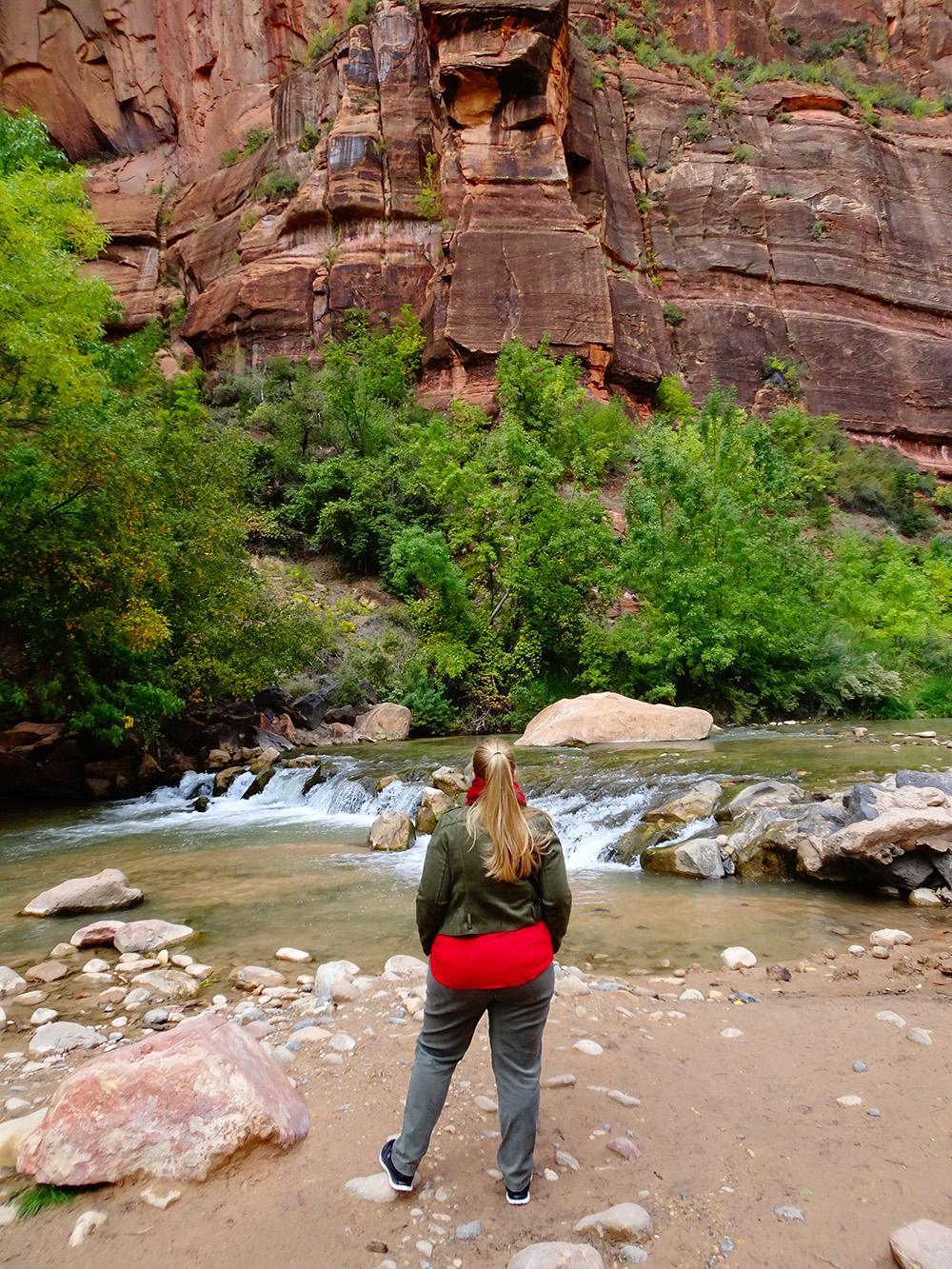 Gastblogger Valerie in de canyon