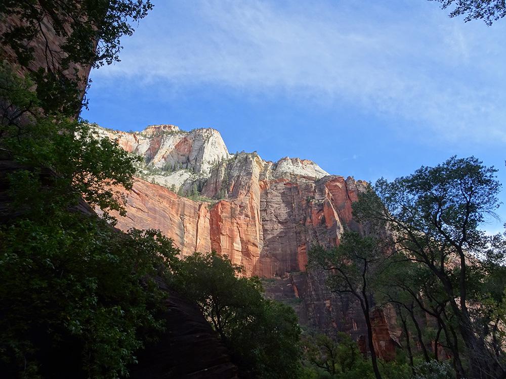 Onderweg naar de volgende trail - Zion National Park