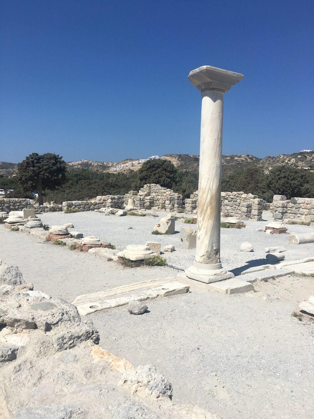 Opgravingen in Kos-stad