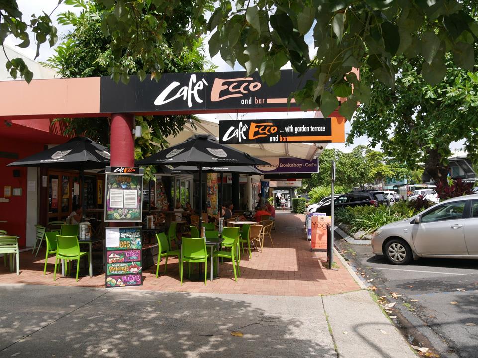 Gezellige restaurants in het centrum van Port Douglas