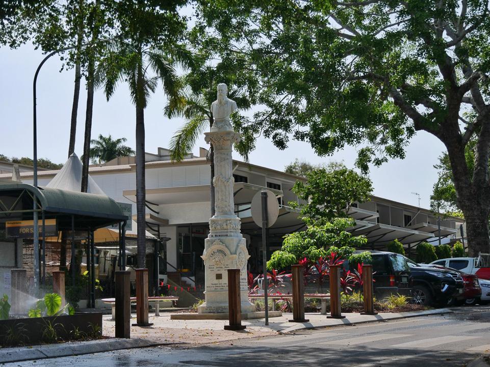 Hoofdstraat van Port Douglas