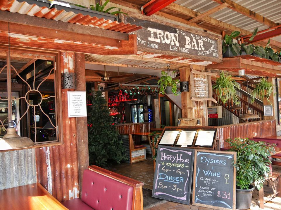 Iron Bar in Port Douglas