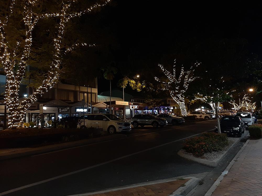 Kerstsfeer in het centrum