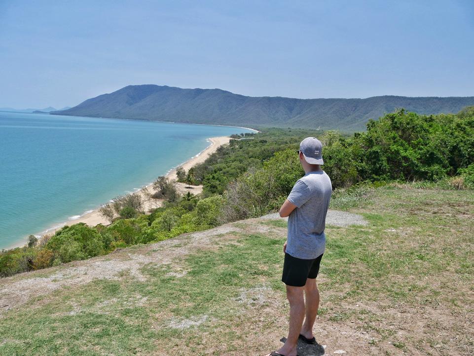 Prachtige kustlijn in Noord-Queensland