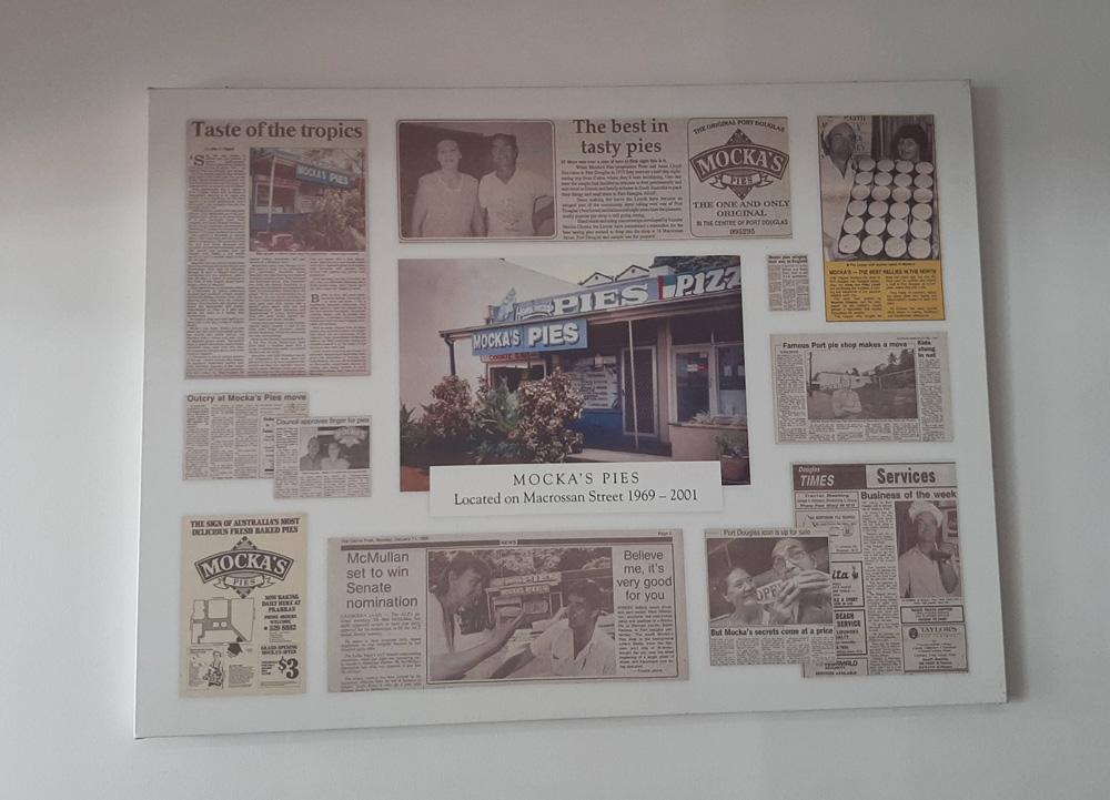 Krantenknipsels over Mocka's Pies