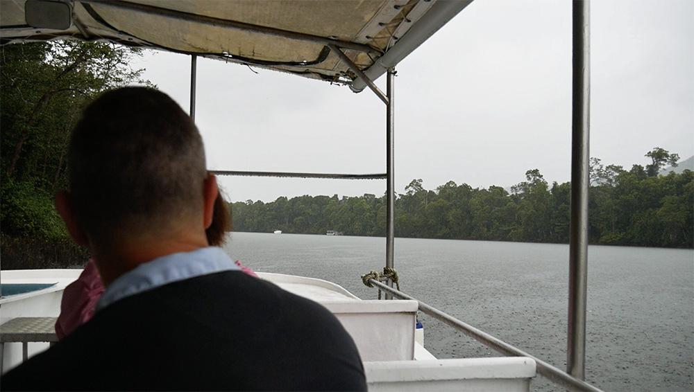 Een stukje varen - kijken of we nog meer wildlife konden spotten