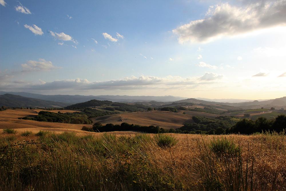 Alleen al rondrijden door het Toscaanse landschap is een feestje