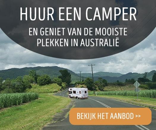 Camperreis door Australië