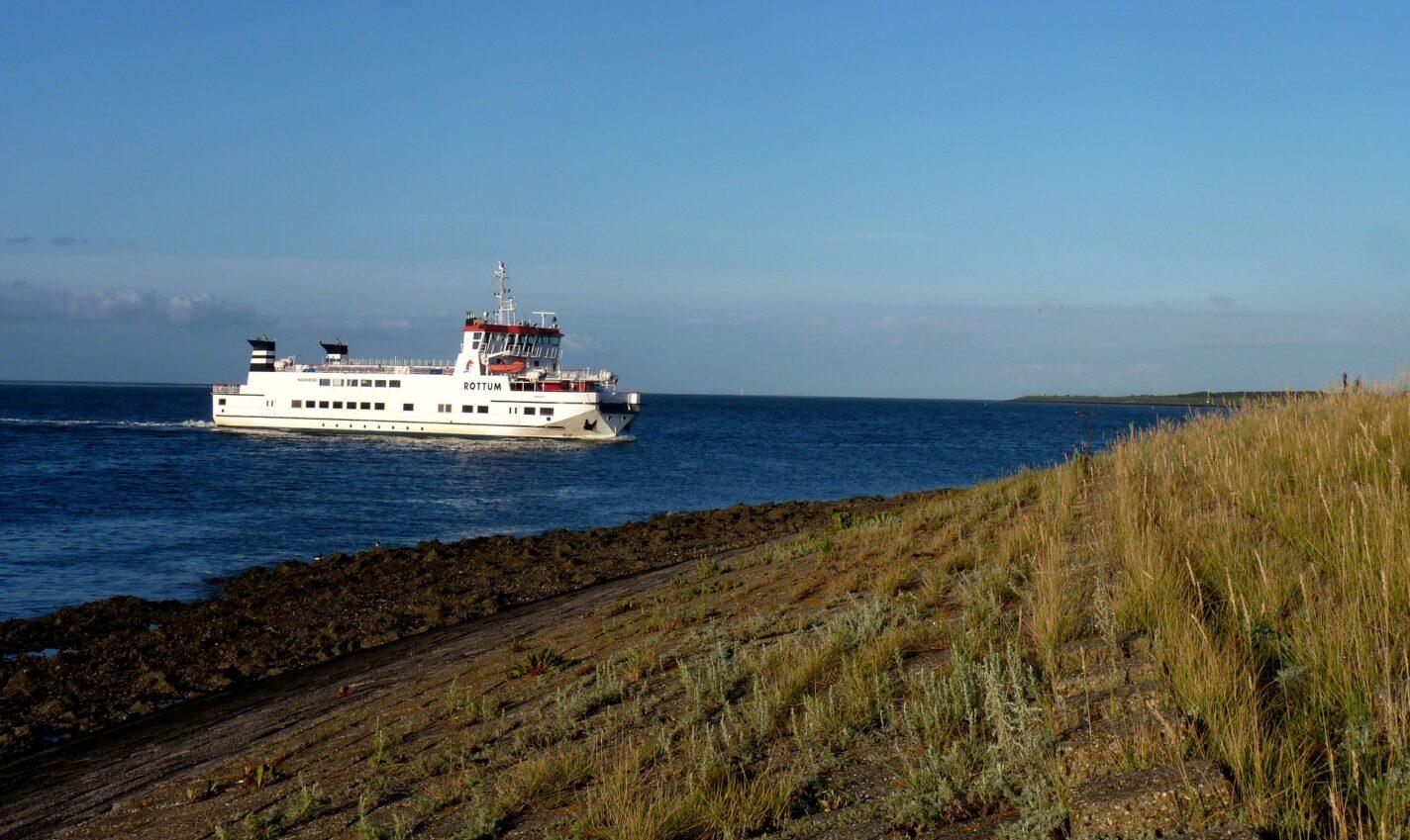 De boot naar Schiermonnikoog