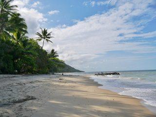 Ellis Beach: slapen op een tropisch strand