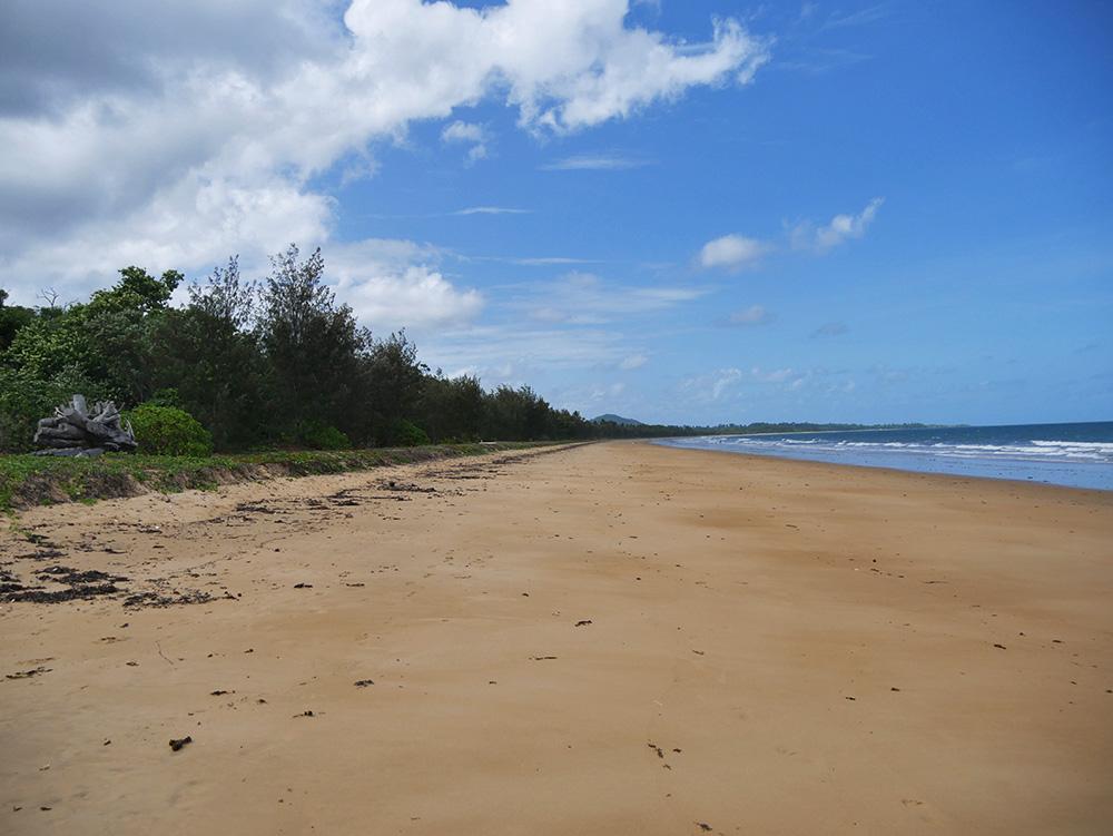 Langgestrekte stranden