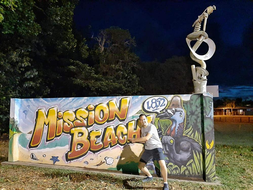Street art in Mission Beach