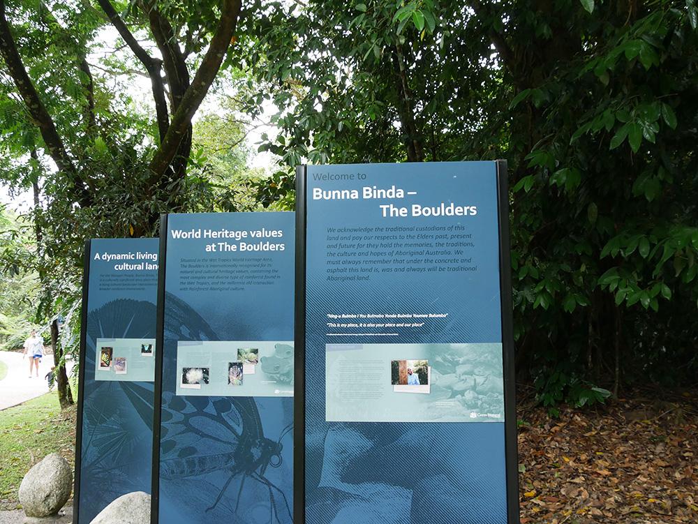 Informatieborden - Bunna Binda - The Boulders