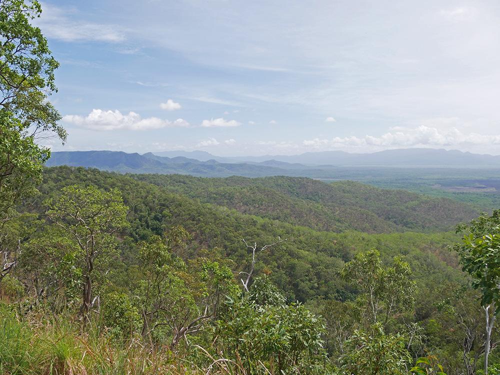 Een tweede stop: glooiende Australische landschappen