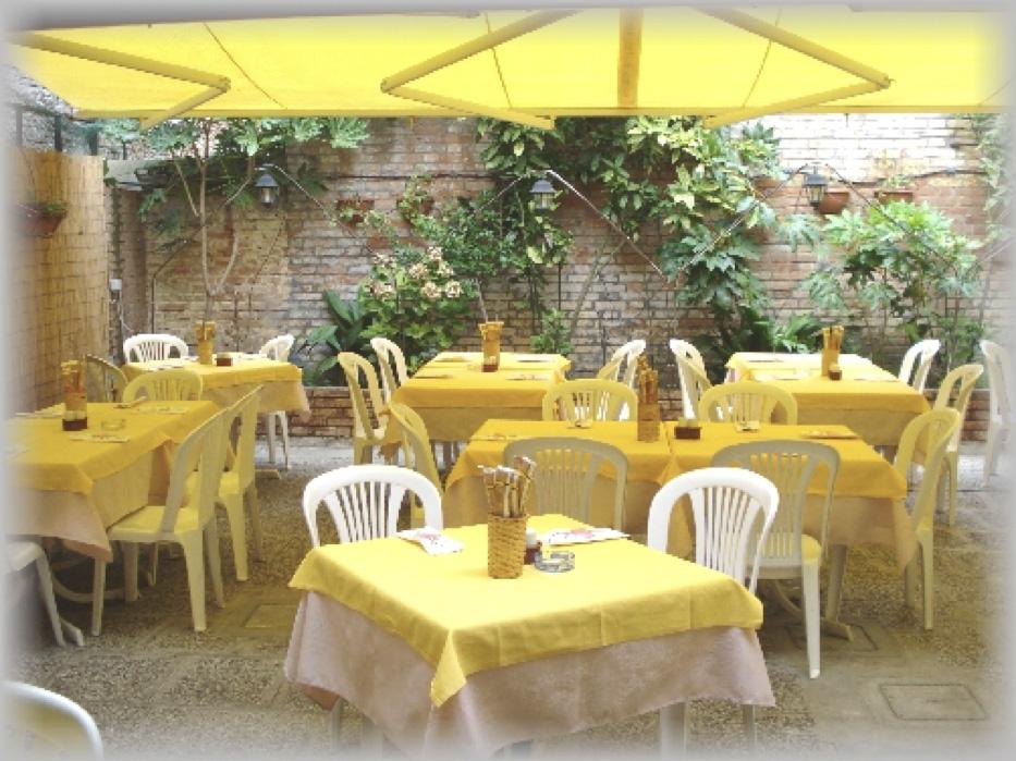De binnentuin van Trattoria-Pizzeria All'Anfora (bron: All'Anfora)