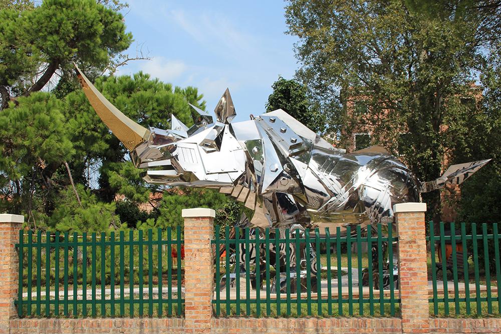 Kunst in Parco delle Rimembranze - Venetië