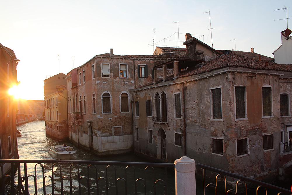 Venetië; stad van de romantiek en van het water