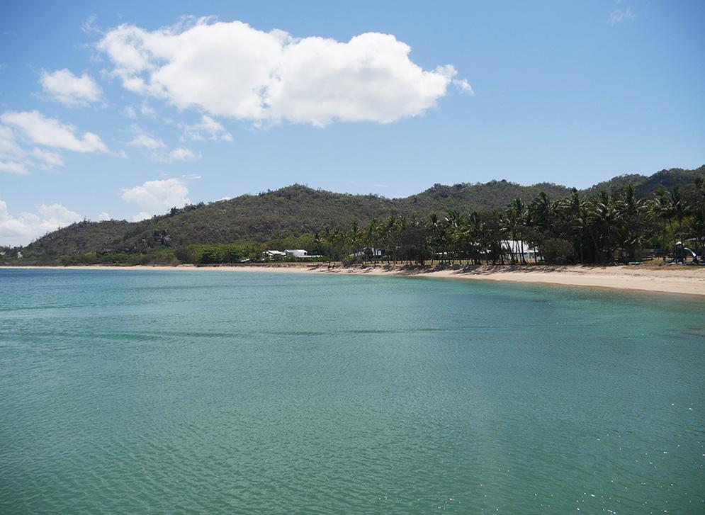 Mooie stranden vol met palmbomen
