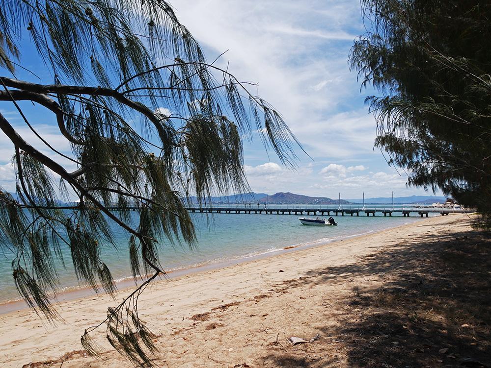 De pier is wel het plaatje wat Picnic Bay zo mooi maakt - Magnetic Island
