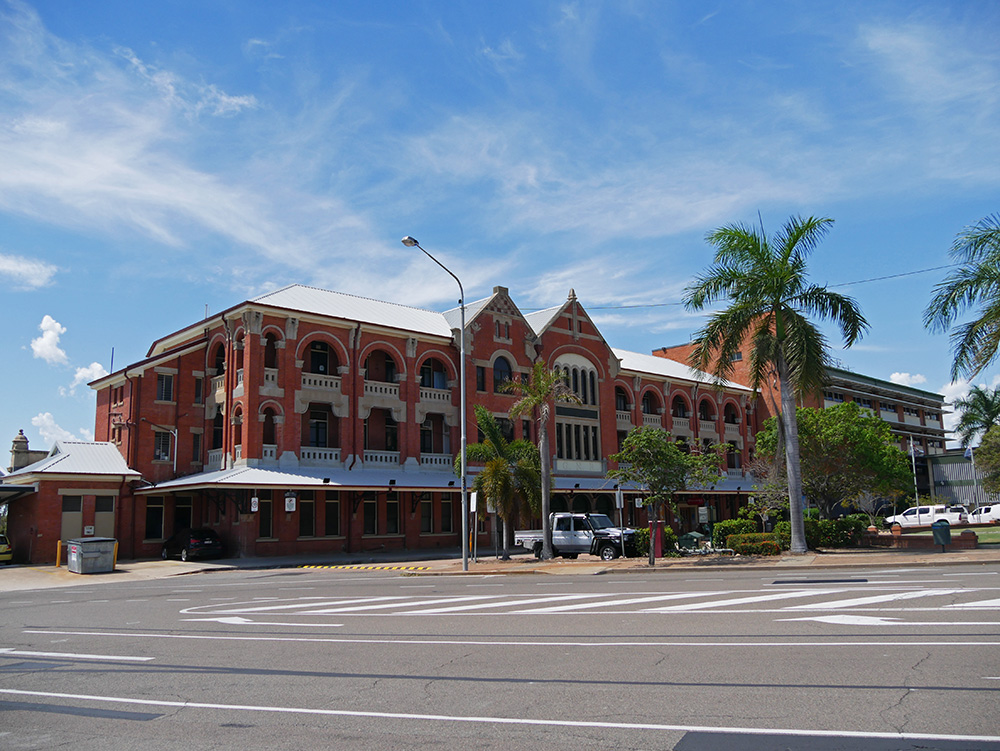 Treinstation van Townsville