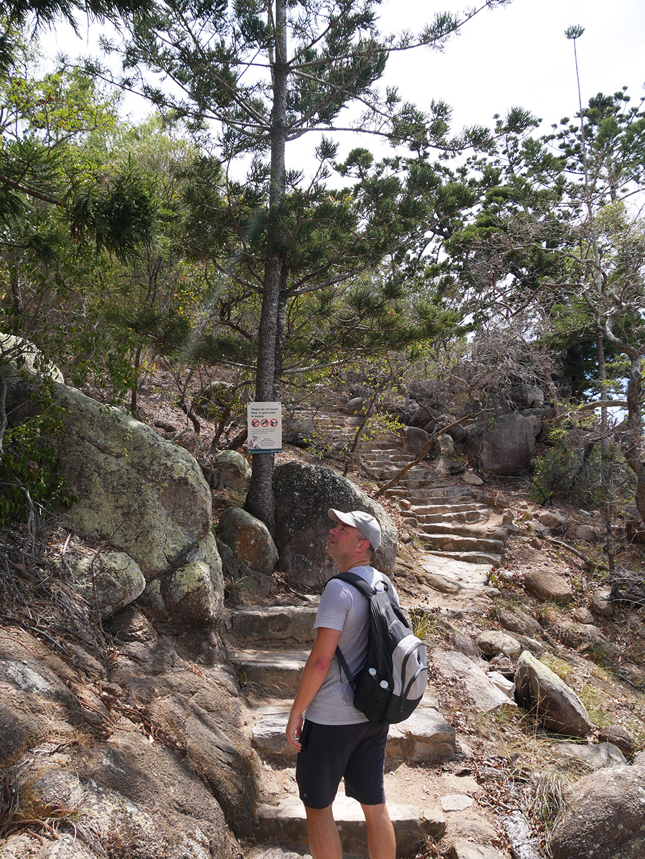 Ook deze hike heeft de nodige klimmetjes maar het is wel goed te doen
