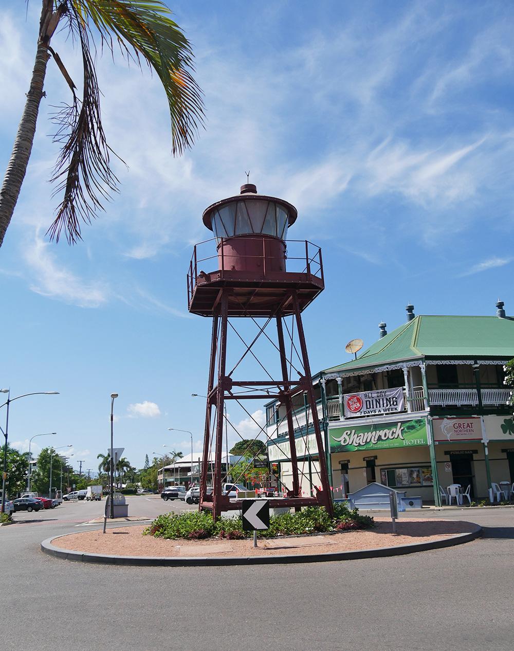 Rotonde in het centrum van Townsville