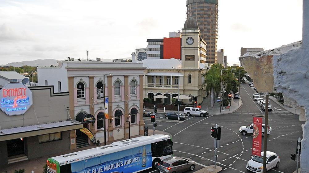 Uitzicht vanaf 237 Flinders Street - Townsville