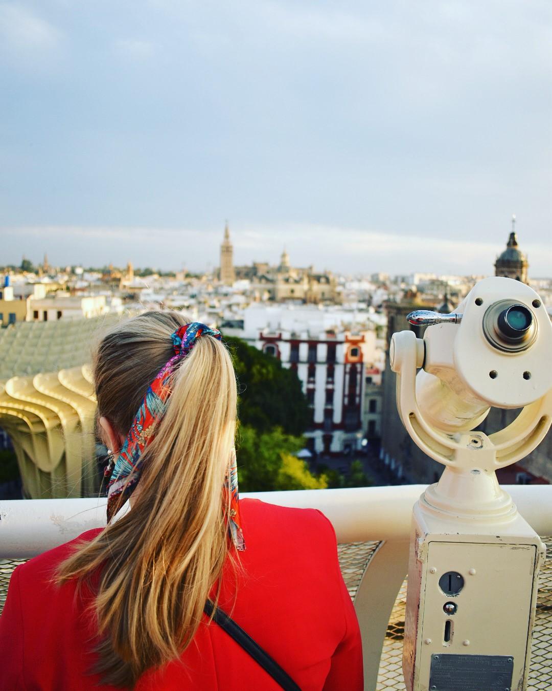 Gastblogger Valerie in haar geliefd Spanje (Setas de Sevilla)