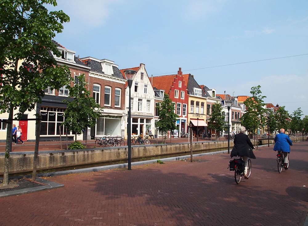 Straat in Leeuwarden