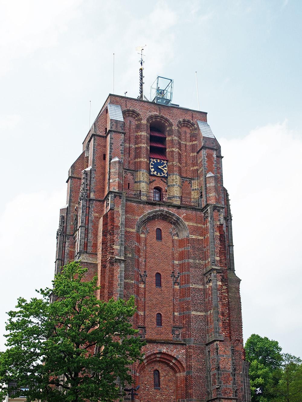 Oldehove - Scheve toren van Leeuwarden