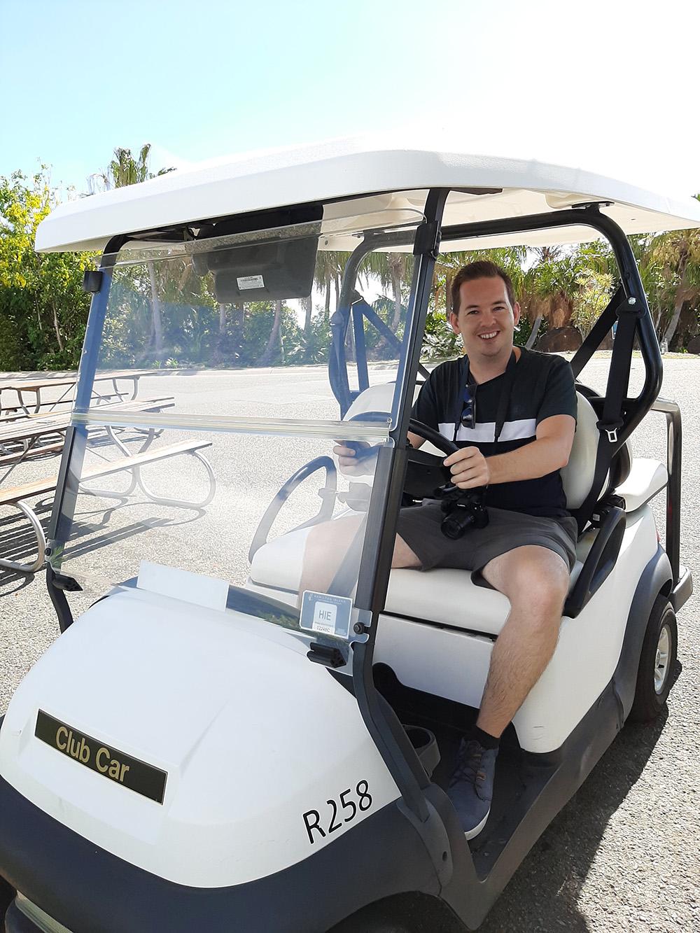 Rijden met een buggy over het eiland - Hamilton Island