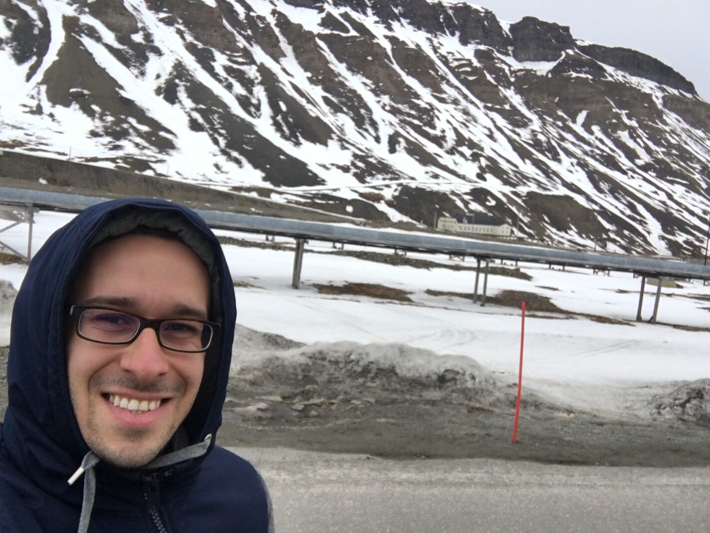 In het oude mijnersdorpje Longyearbyen