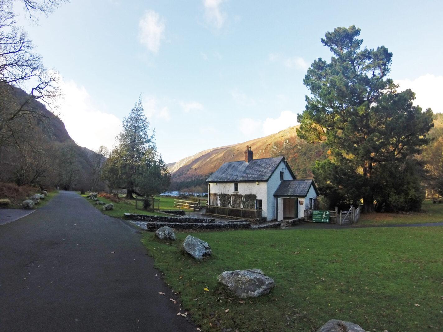 Glendalough in de Wicklow Mountains