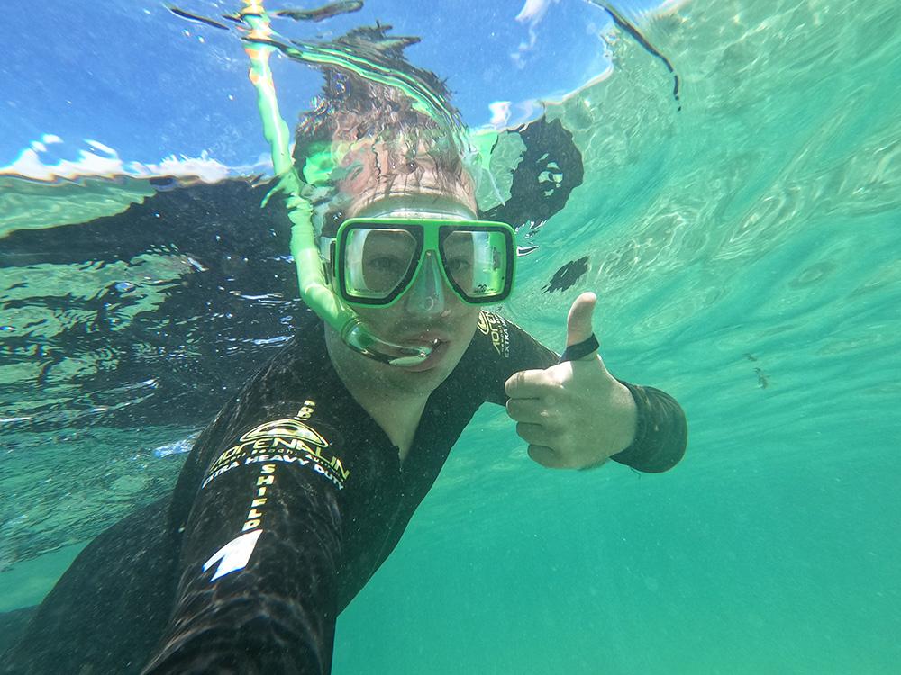 Snorkelen bij de Great Barrier Reef