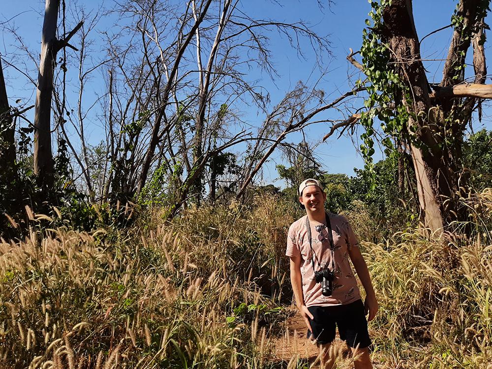 Tijdens een wandeling in de Australische natuur neem ik altijd mijn camera mee