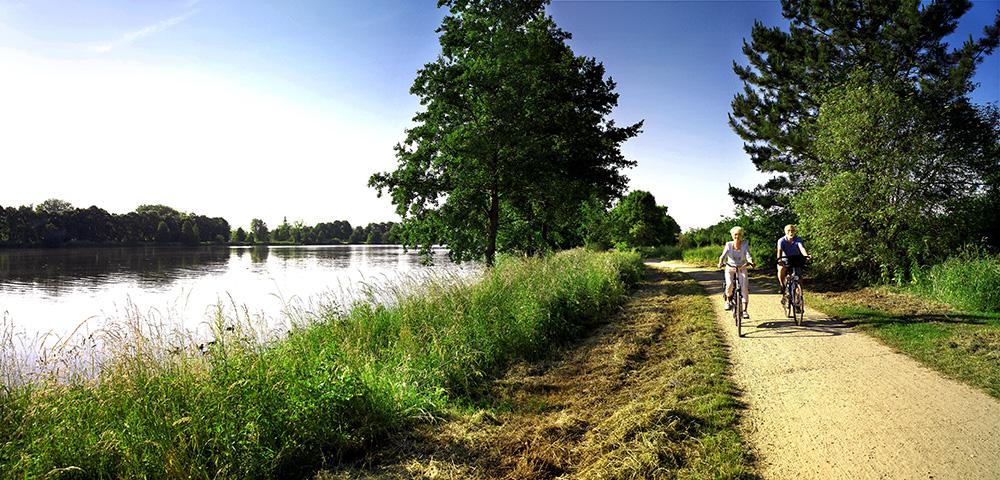 De omgeving van Nordhorn ontdekken op de fiets