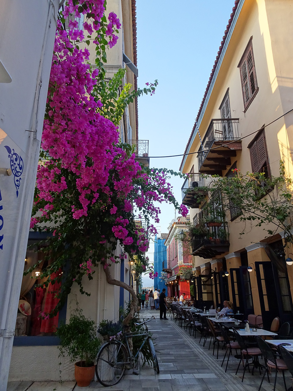De mooiste straatjes in de binnenstad van Náuplion