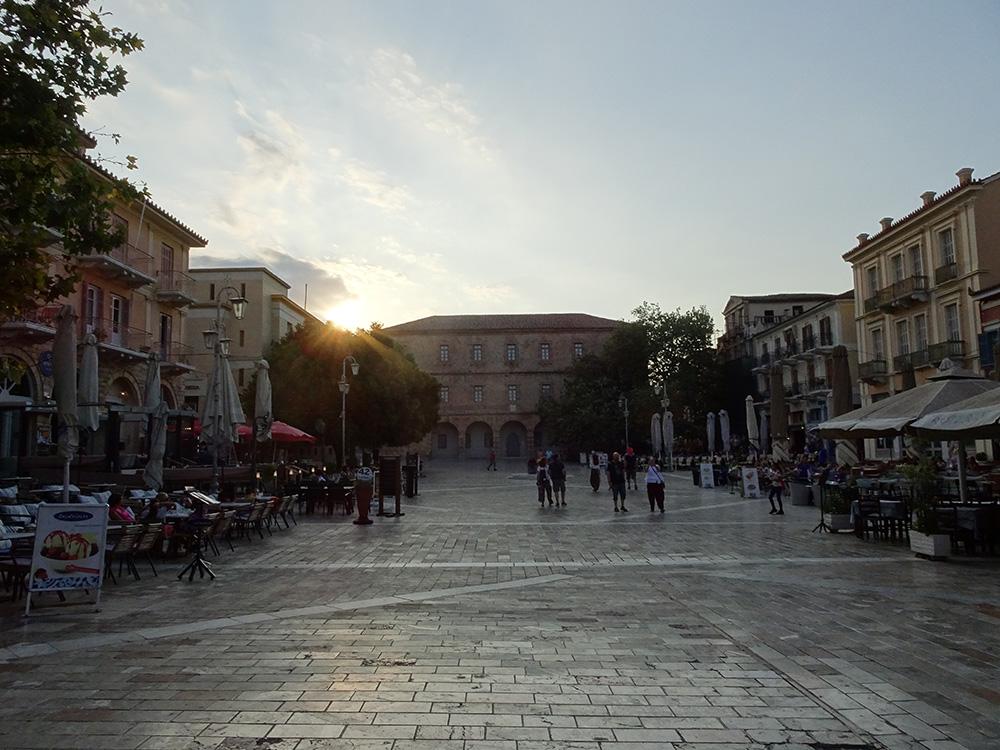 Het gezellige Syntagmaplein