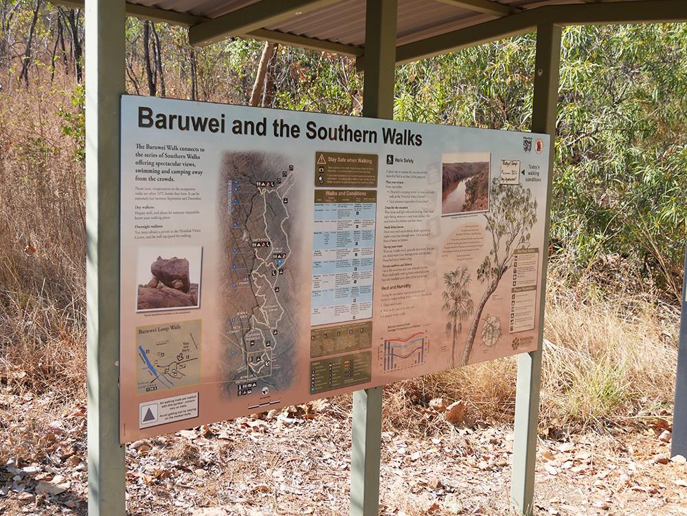 Baruwei and the Southern Walks in Nimitluk