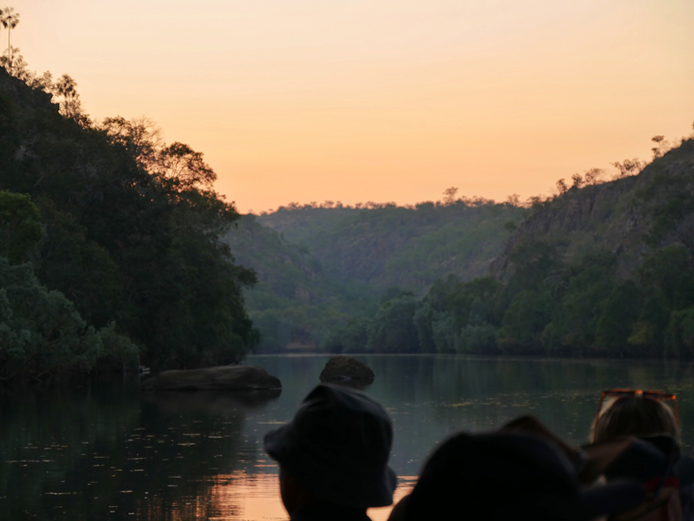 Nitmiluk National Park - Rode gloed door de opkomende zon