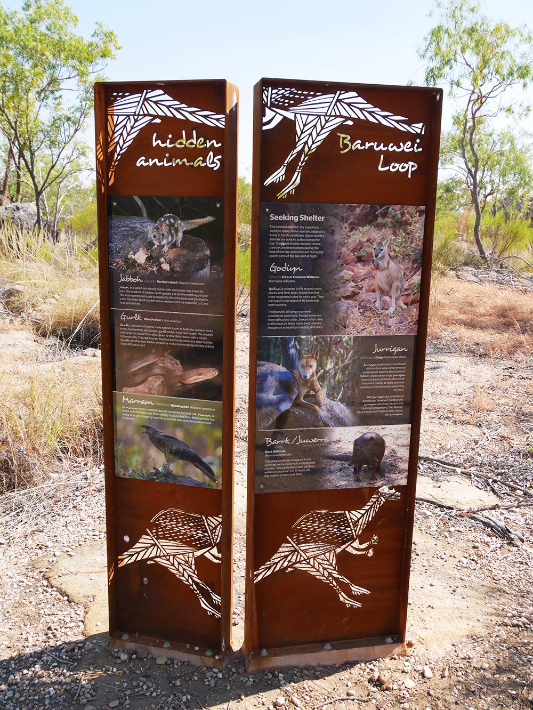 Deze dieren leven allemaal in Nitmiluk National Park